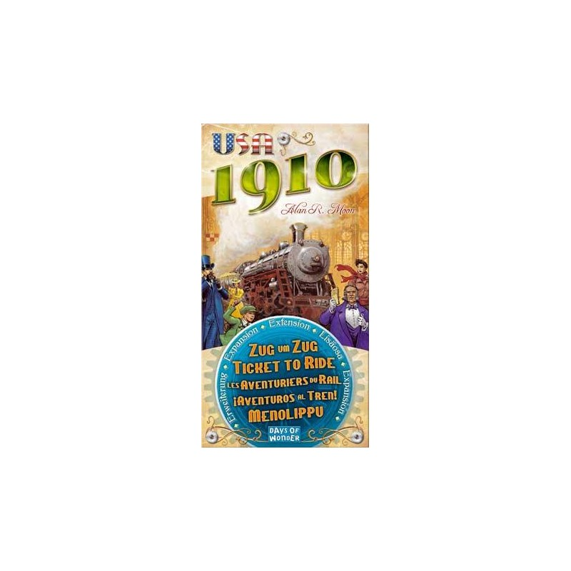 Aventureros al tren - USA 1910 expansión