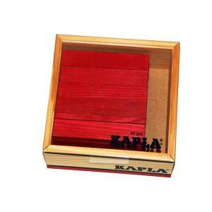 Kapla 40 - Colores: Rojo