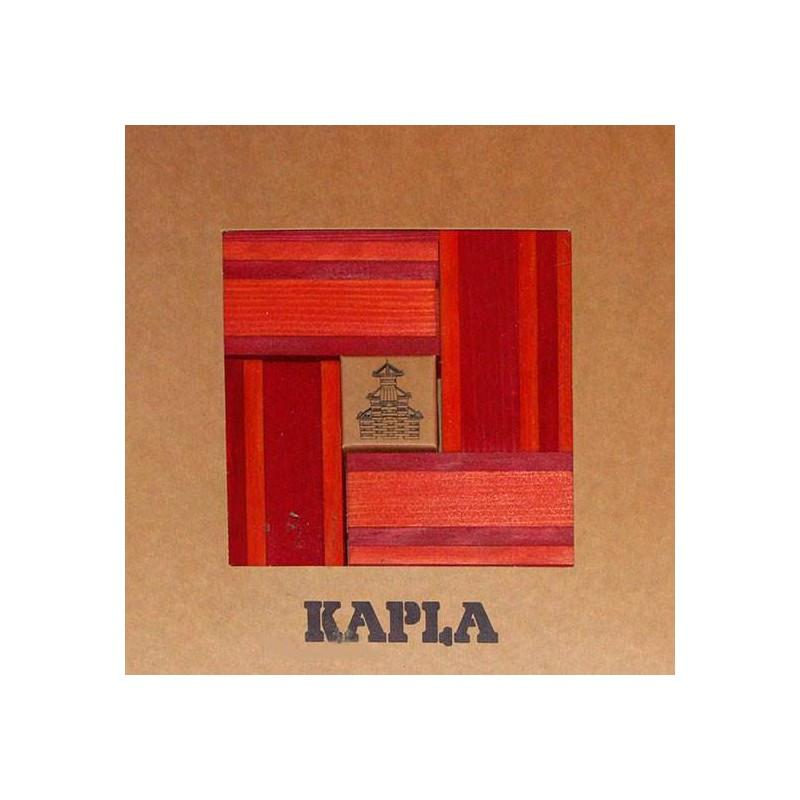 Kapla 40 - Rojo, naranja y libro