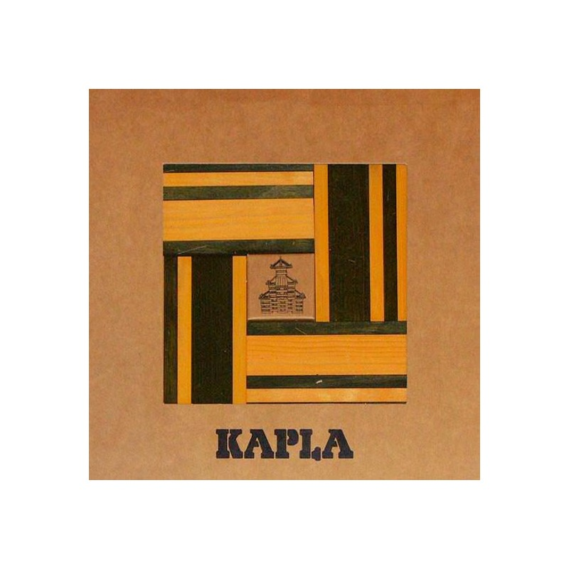 Kapla 40 - Verde, amarillo y libro