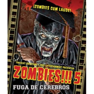 Zombies!!! 5 - Fuga de Cerebros