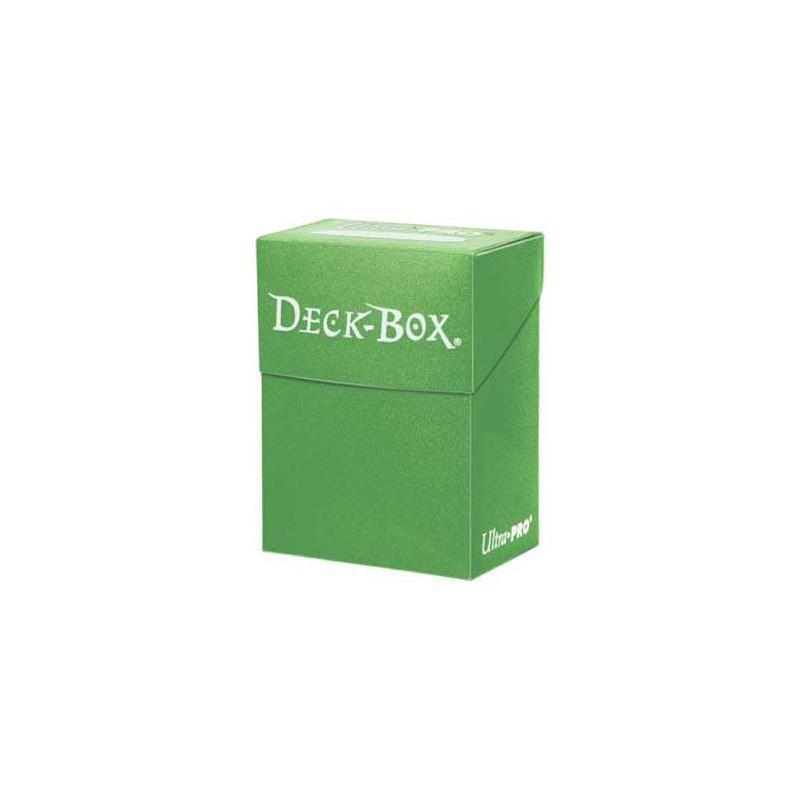 ULTRAPRO Deck Box Solid Verde Claro