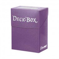 ULTRAPRO Deck Box Solid Lila