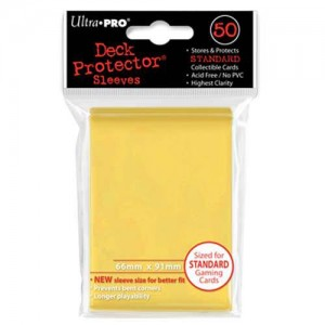 Fundas UltraPro Solid Amarillo