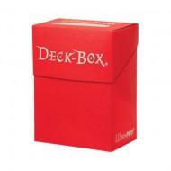 ULTRAPRO Deck Box Solid Roja