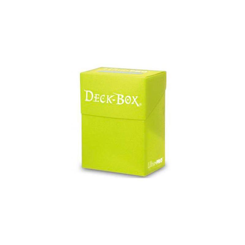 ULTRAPRO Deck Box Solid Amarilla Brillante