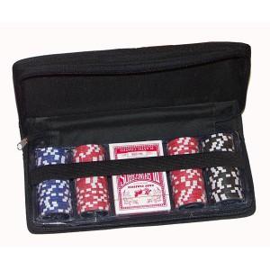 Poker Set de Viaje con 100 fichas 11,5 gr.