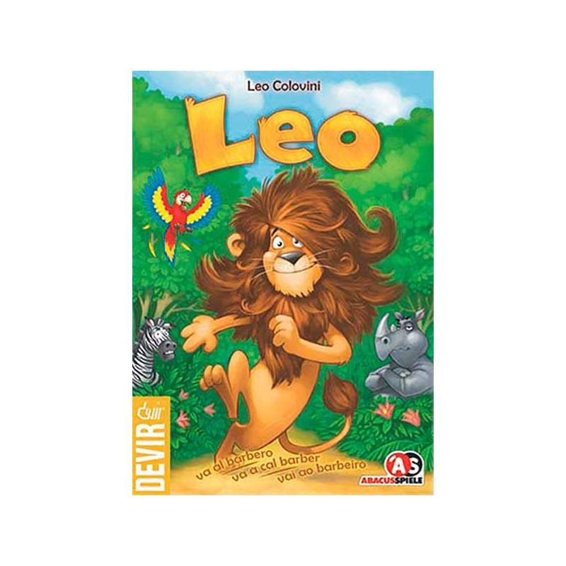 Leo va al barbero