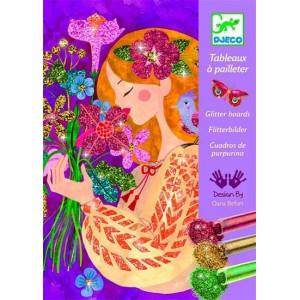 Cuadros Purpurina Perfume de las Flores