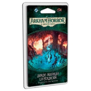 Arkham Horror LCG: donde aguarda la pardición
