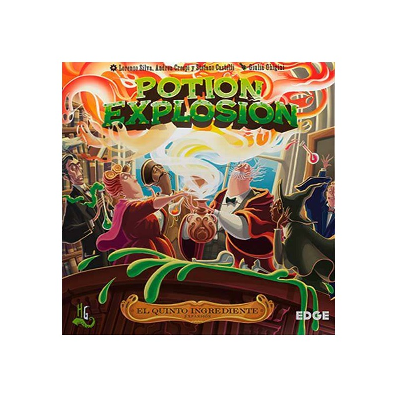 Potion Explosion - El quinto ingrediente