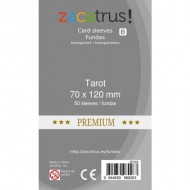 Fundas ZACATRUS Tarot PREMIUM (70x120 mm)
