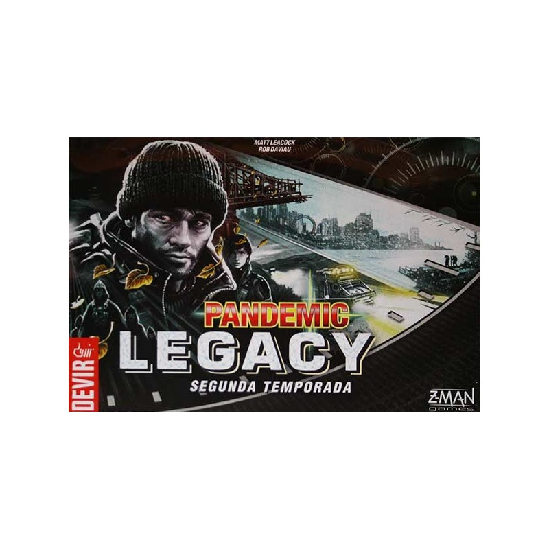 Pandemic Legacy Segunda temporada - Caja Negra