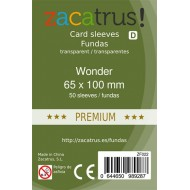 Fundas ZACATRUS 7 Wonder PREMIUM (65x100 mm)