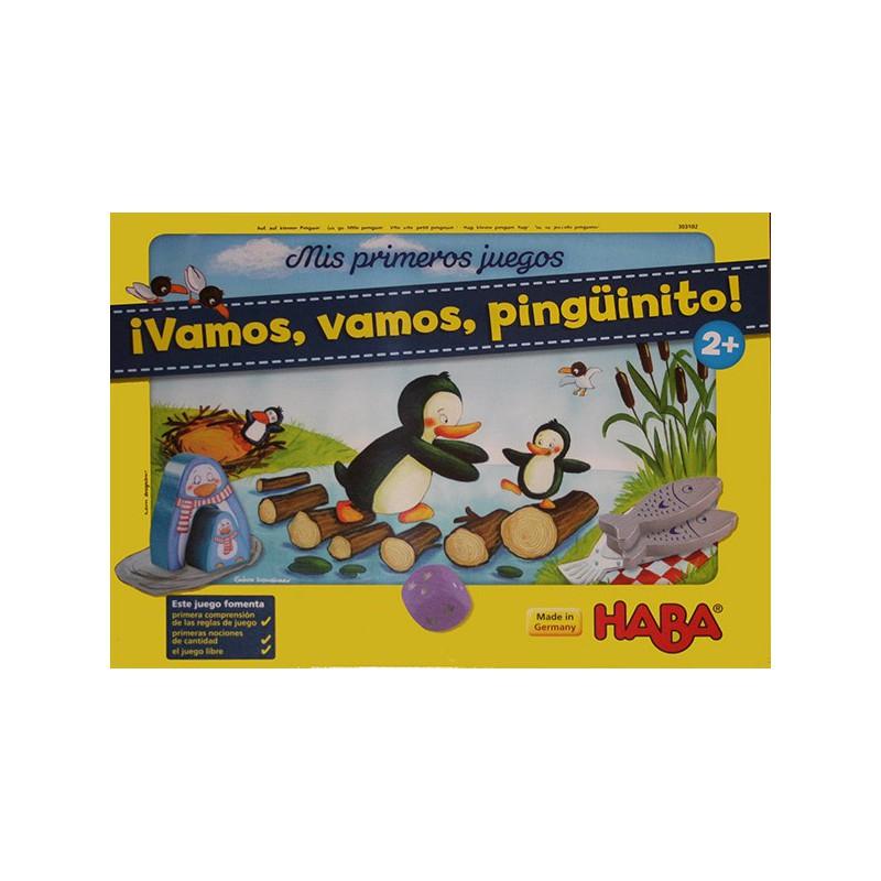 Mis primeros juegos - Vamos, vamos, pingüinito