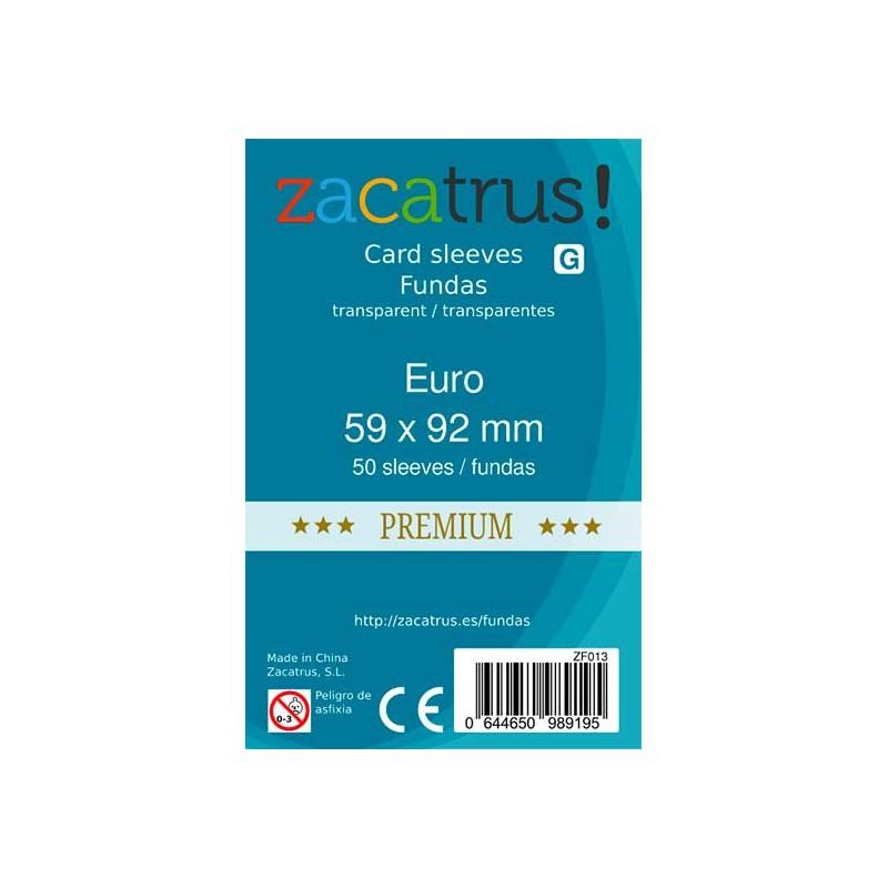Fundas ZACATRUS Eurogame PREMIUM (59x92 mm)
