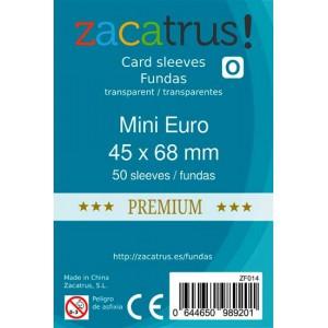 Fundas ZACATRUS Mini eurogame PREMIUM (45x68 mm)