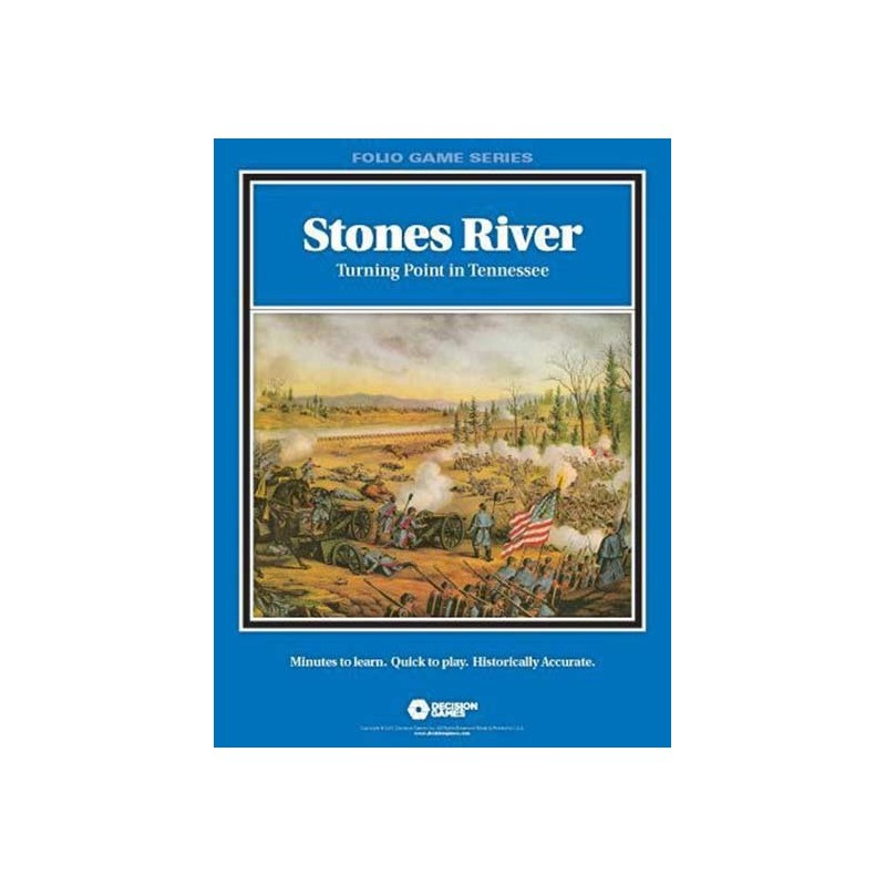 Stones River: turning point in Tennessee - FOLIO SERIES