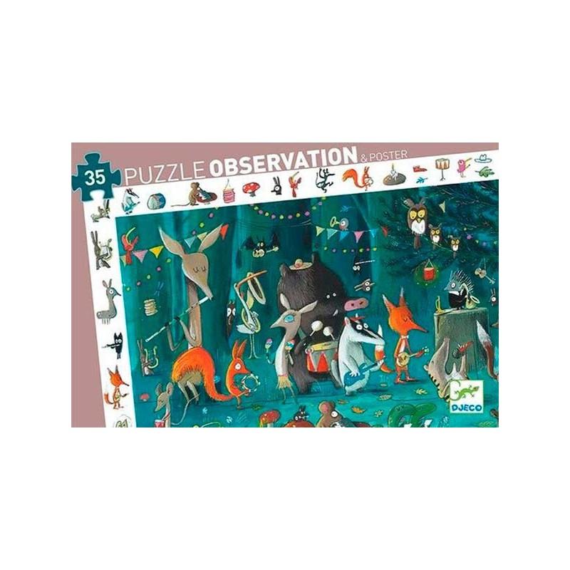 Puzzle Observación Orquesta - 35 piezas