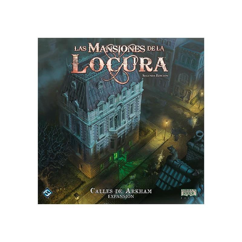 Las Mansiones de la Locura - 2ª edición - Calles de Arkham