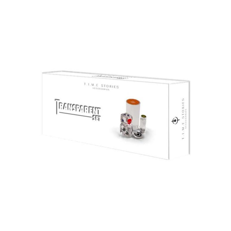 T.I.M.E. Stories: Set de fichas transparentes