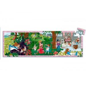 Puzzle Silueta Alicia 50 piezas