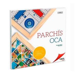 Tablero Parchis y Oca - Cristal