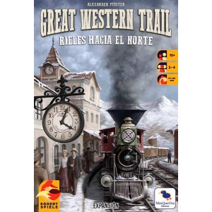 Great Western Trail: rieles...