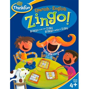 Zingo bilingüe Español Inglés