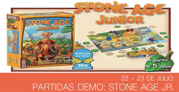 Partidas demo Stone Age Junior