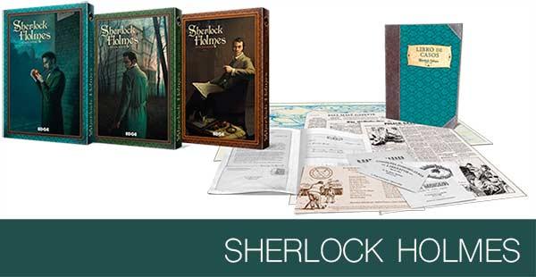 Nuevos casos para Sherlock Holmes