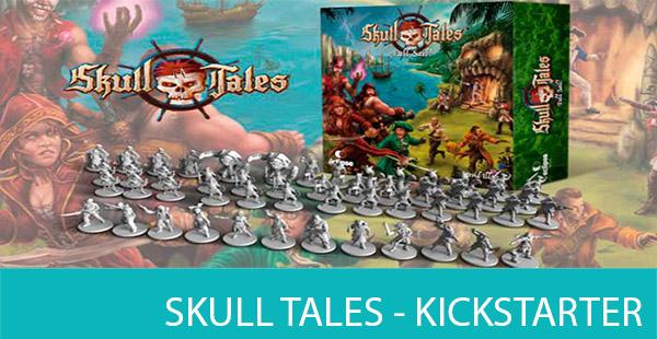 Skull Tales, edición Kickstarter