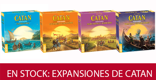 Expansiones de Catan disponibles